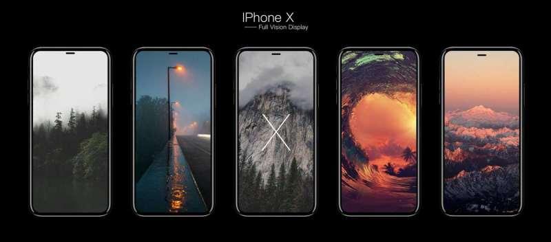 iphone x full display